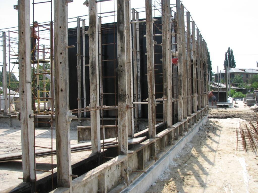 фото строительство монолитного дома своими руками из пенобетона с использованием съемной опалубки