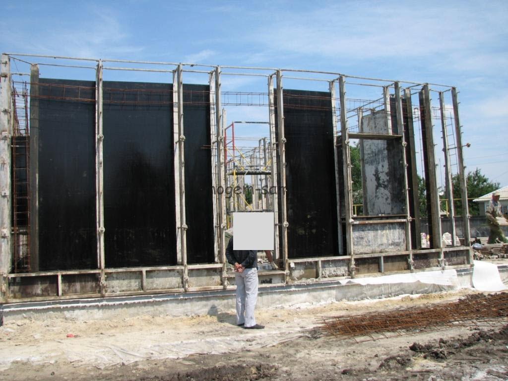 фото строительства дома с использованием съемной опалубки своими руками