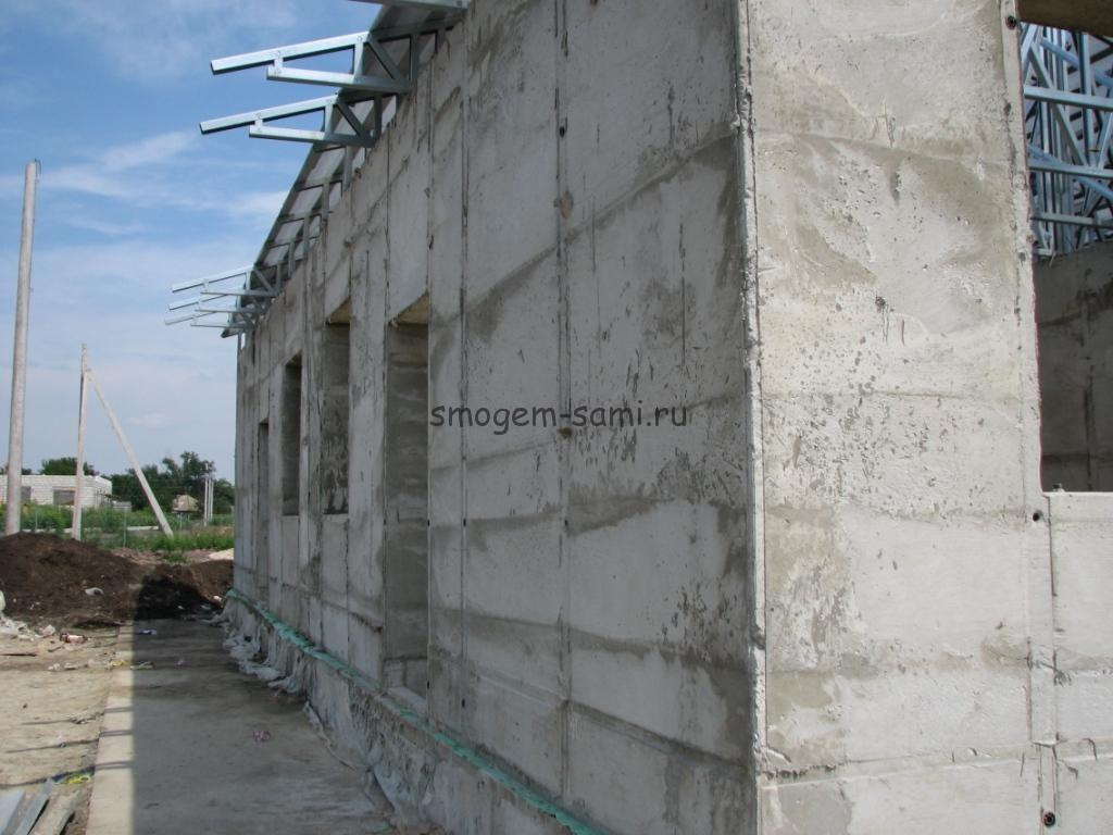 дом из монолитного пенобетона своими руками фото