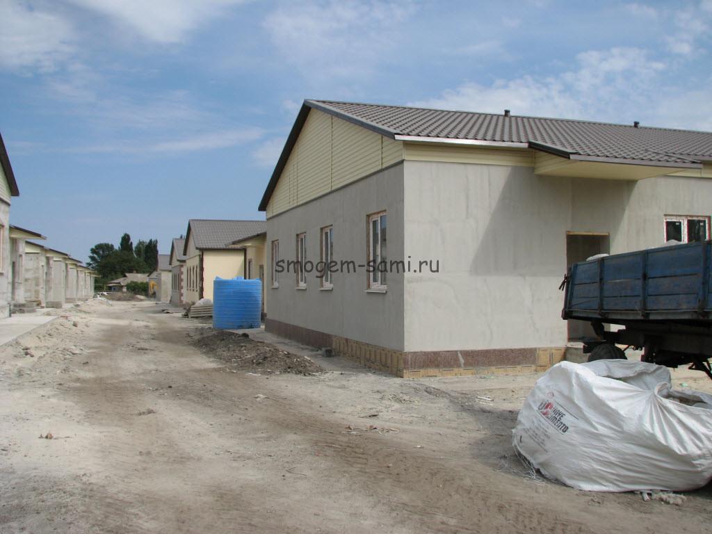 фото строительства монолитного дома из съемной опалубки своими руками из пенобетона