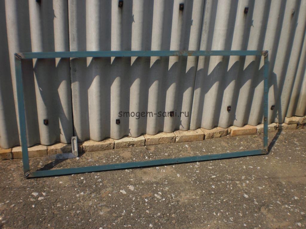 фото изготовления металлической двери
