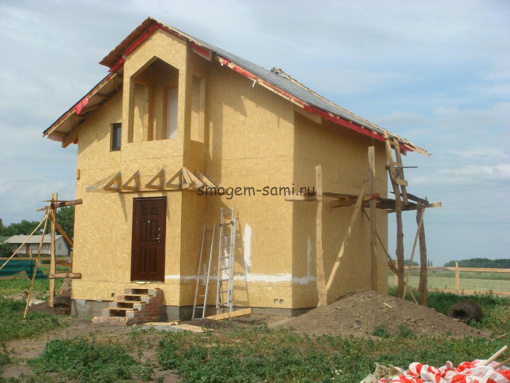 как построить дачный дом из ОСБ