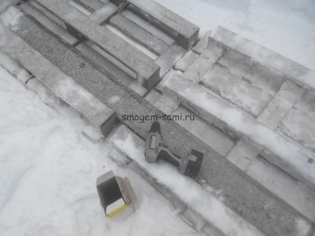 расчитска дороги от снега приспособление фото