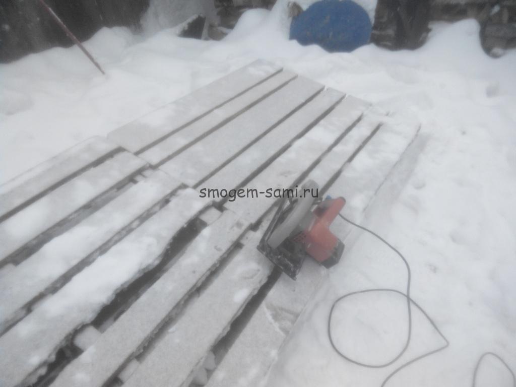 изготовление приспособления для чистки дороги от снега на машине фото