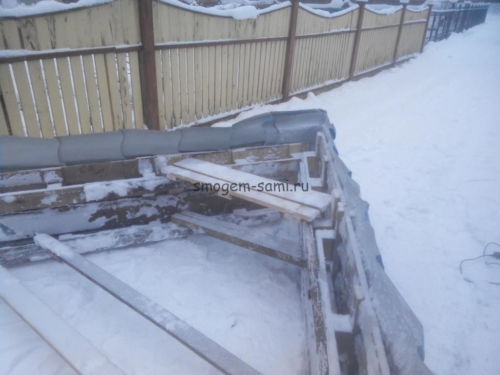 чистка снега на машине приспособление фото