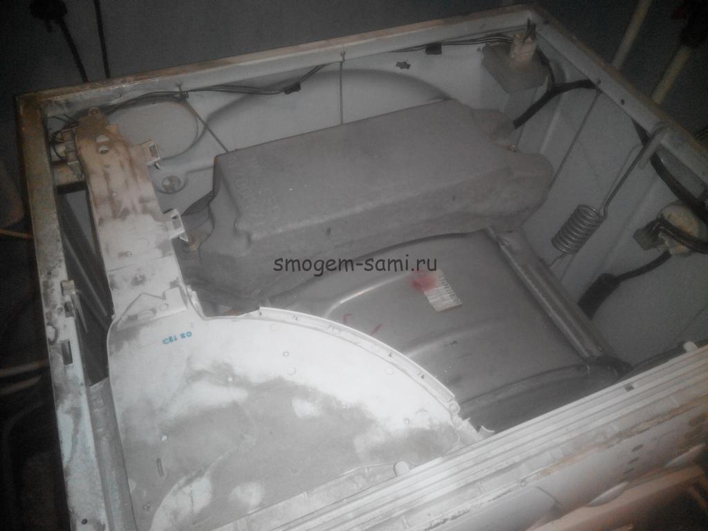 в стиральной машине не растворяется порошок