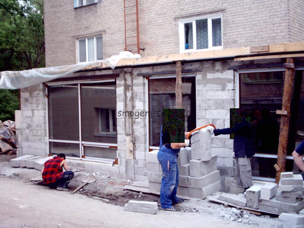 строительство пристройки к многоквартирному дому фото