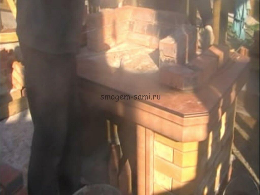 камин с мангалом как сделать фото