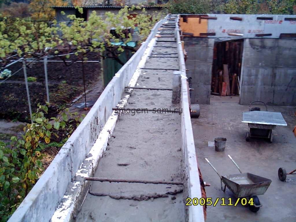 строительство дома скользящая опалубка фото