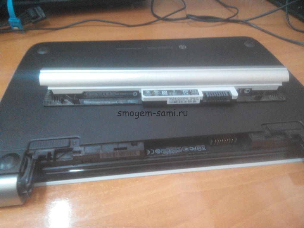 HP e010sr разборка и чистка от пыли фото