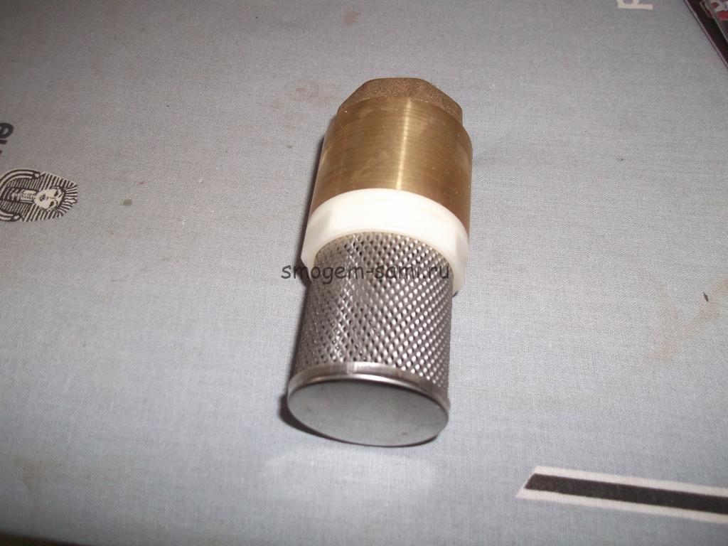 обратный клапан для воды для насоса бытового поверхностного фото