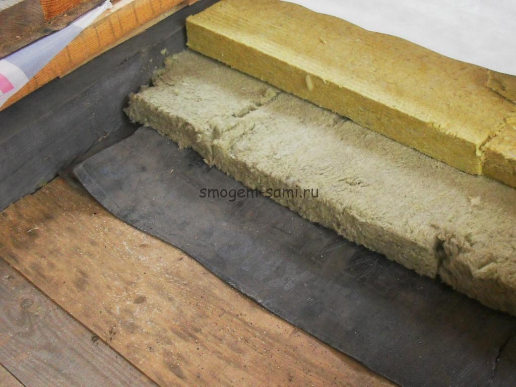 утепление деревянных перекрытий