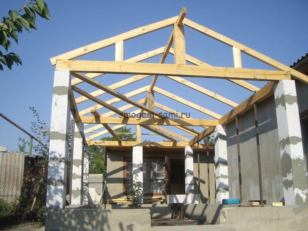 постройка бетонной теплицы фото