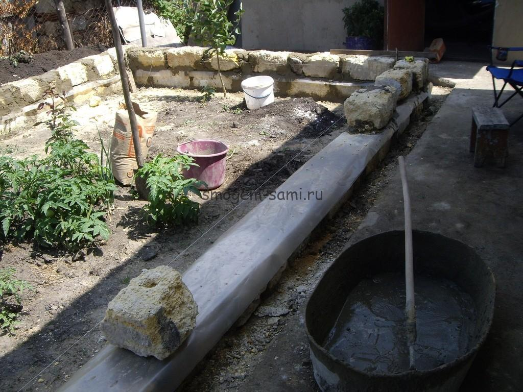 бетонная теплица своими руками фото