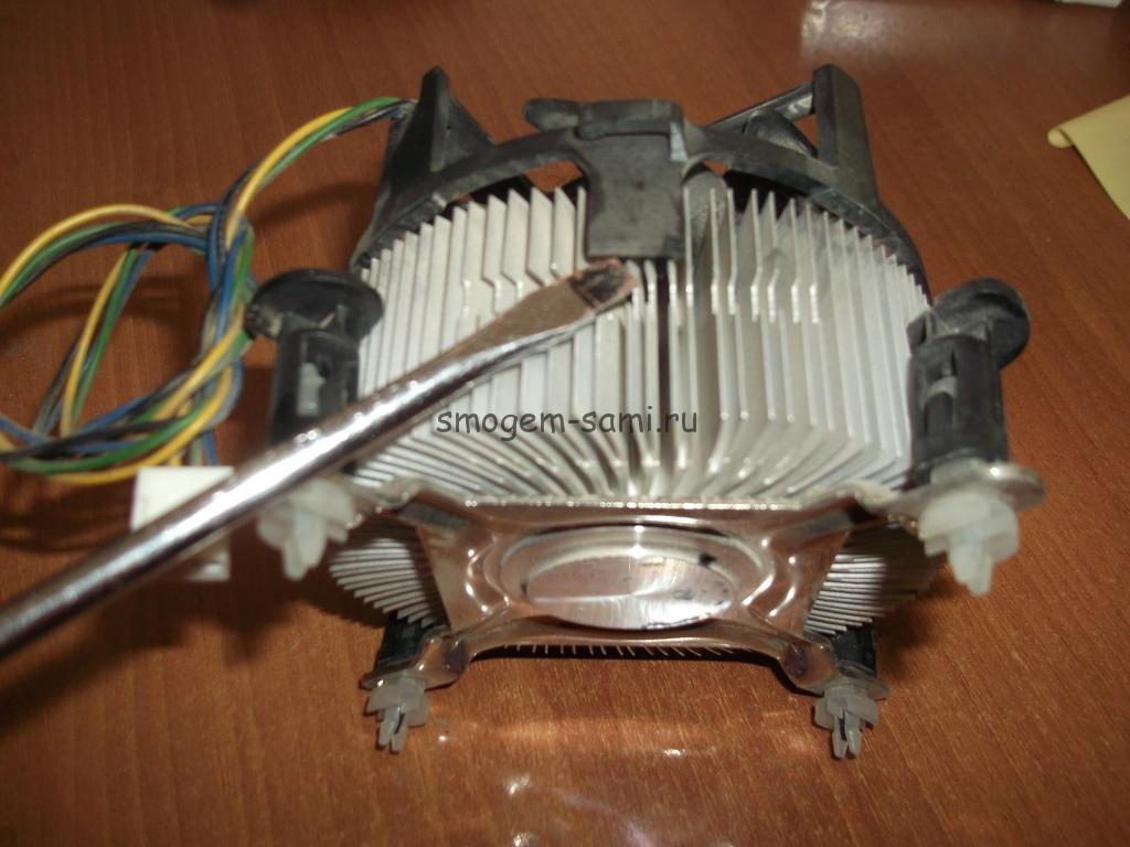 замена вентилятора кулера компьютера фото