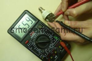 ремонт энергосберегающей лампочки фото