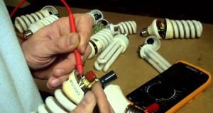 Ремонт энергосберегающей лампочки