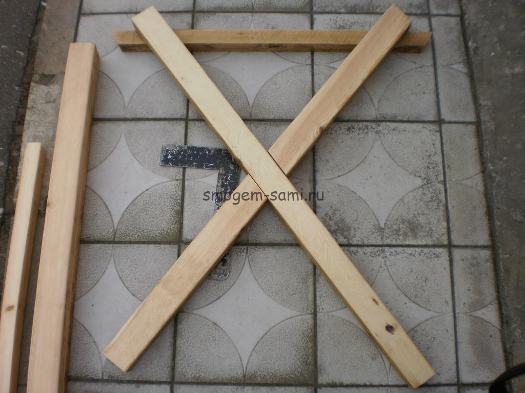 как сделать уличный столик из дерева своими руками фото