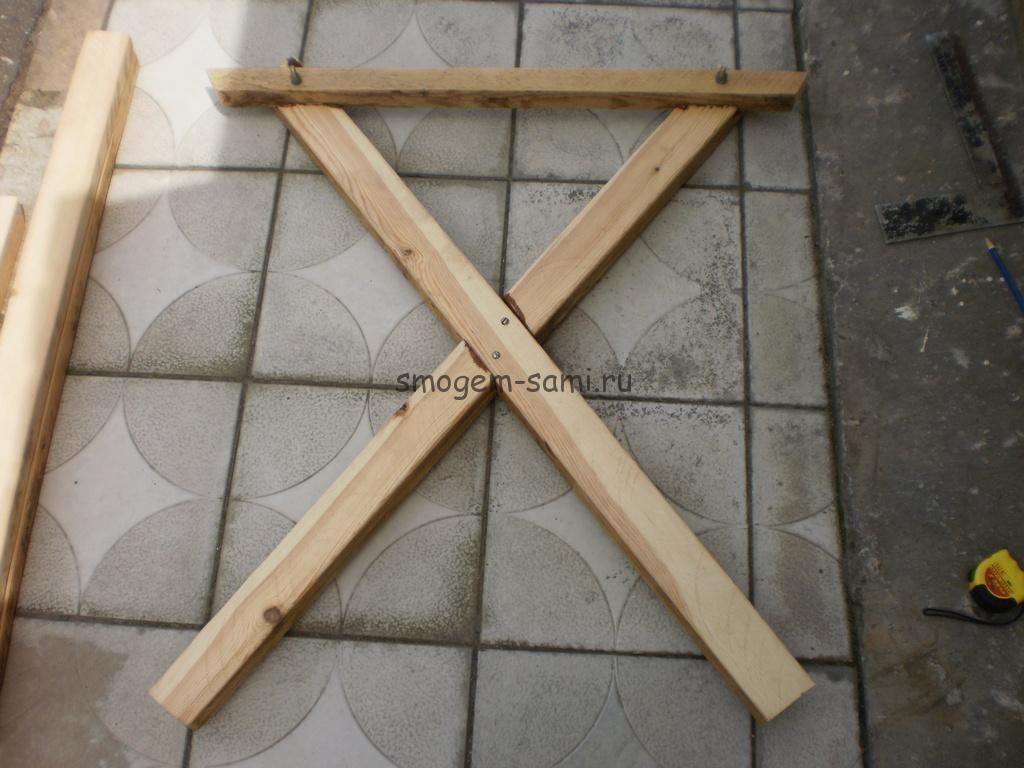 уличный столик из дерева своими руками фото