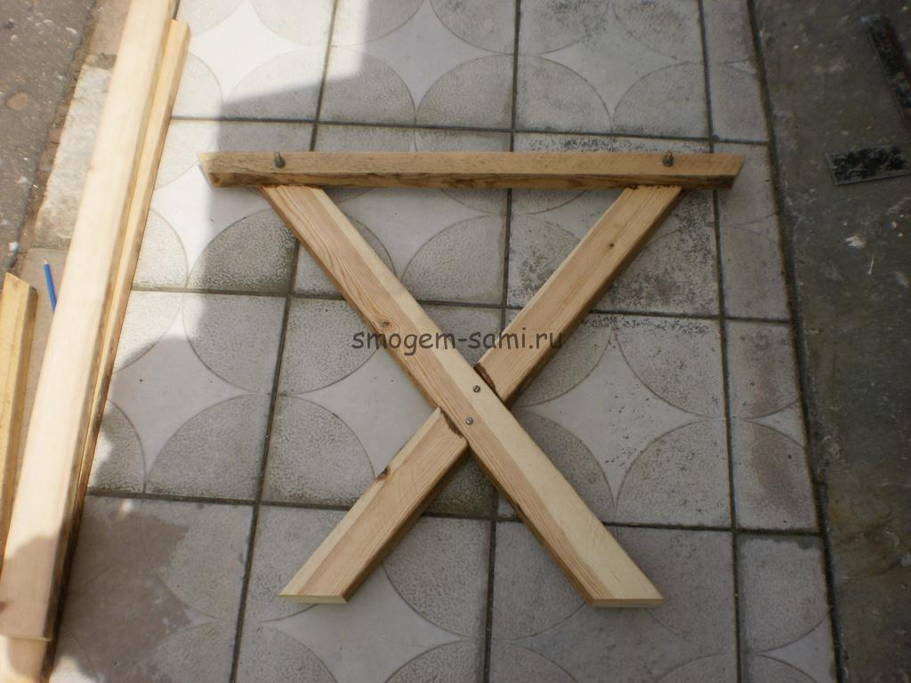 уличный столик деревянный своими руками фото
