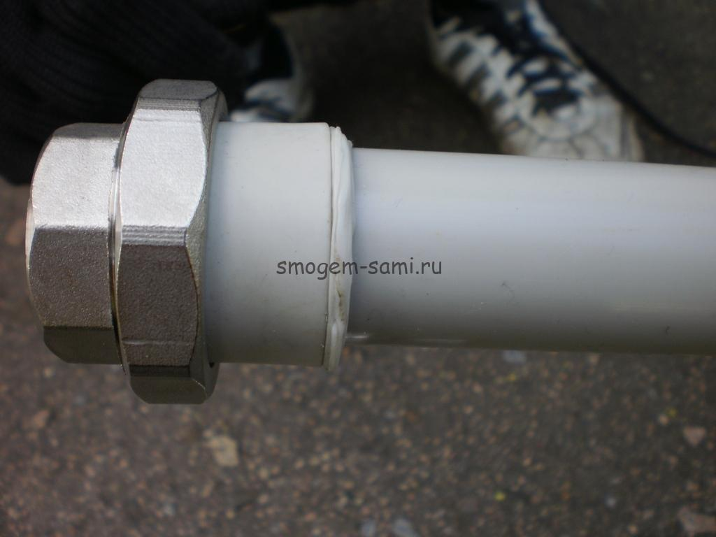 пайка труб из полипропилена фото