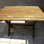уличный стол для дачи