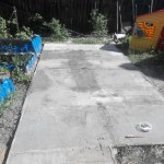 площадка из бетона фото