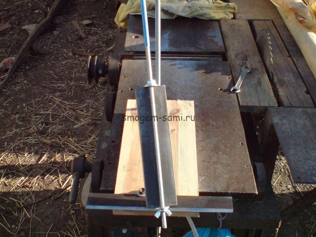 правка ножей фуганка фото