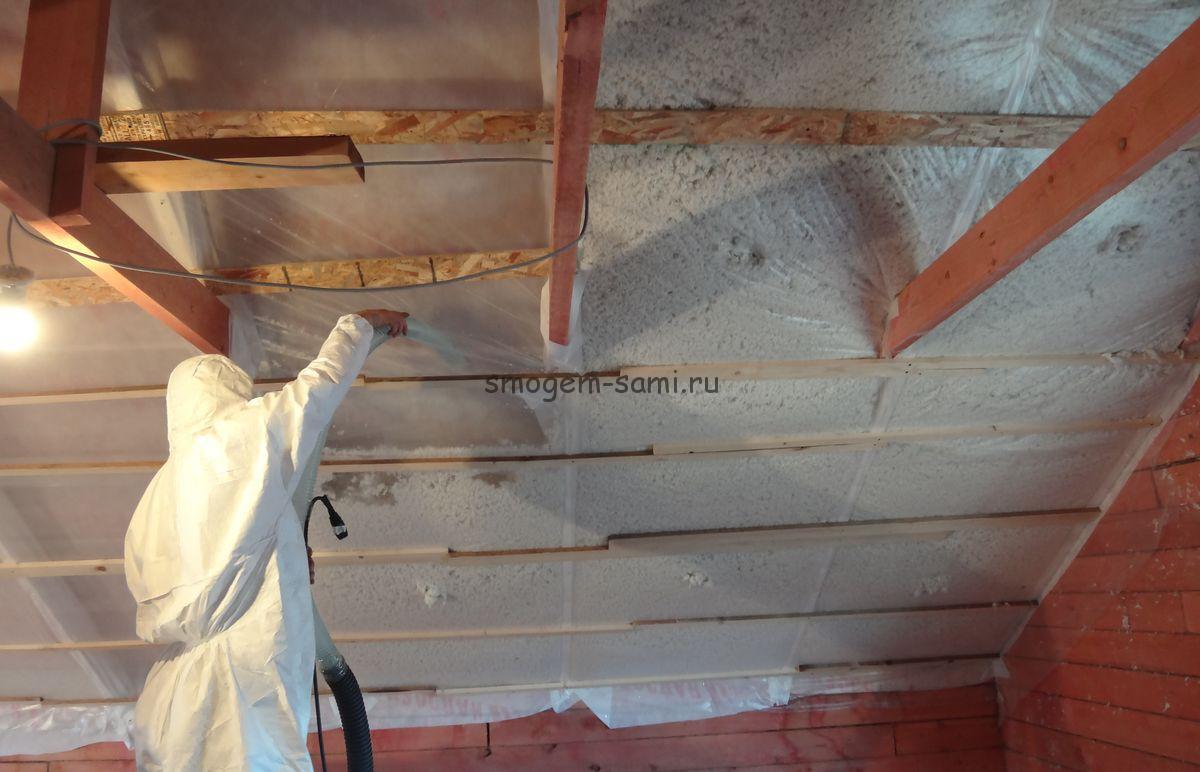 Утепление стен листовым пенополиуретаном своими руками