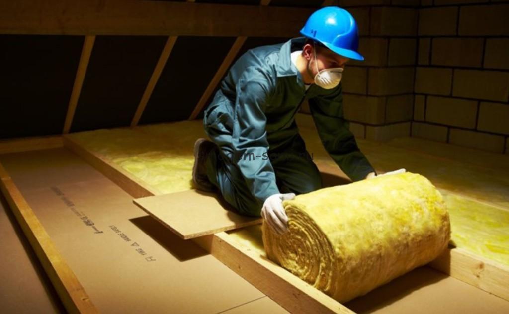 Стекловата для утепления крыши – как надежный и проверенный материал