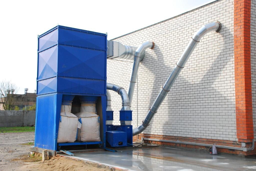 Аспирационная установка для очистки воздуха