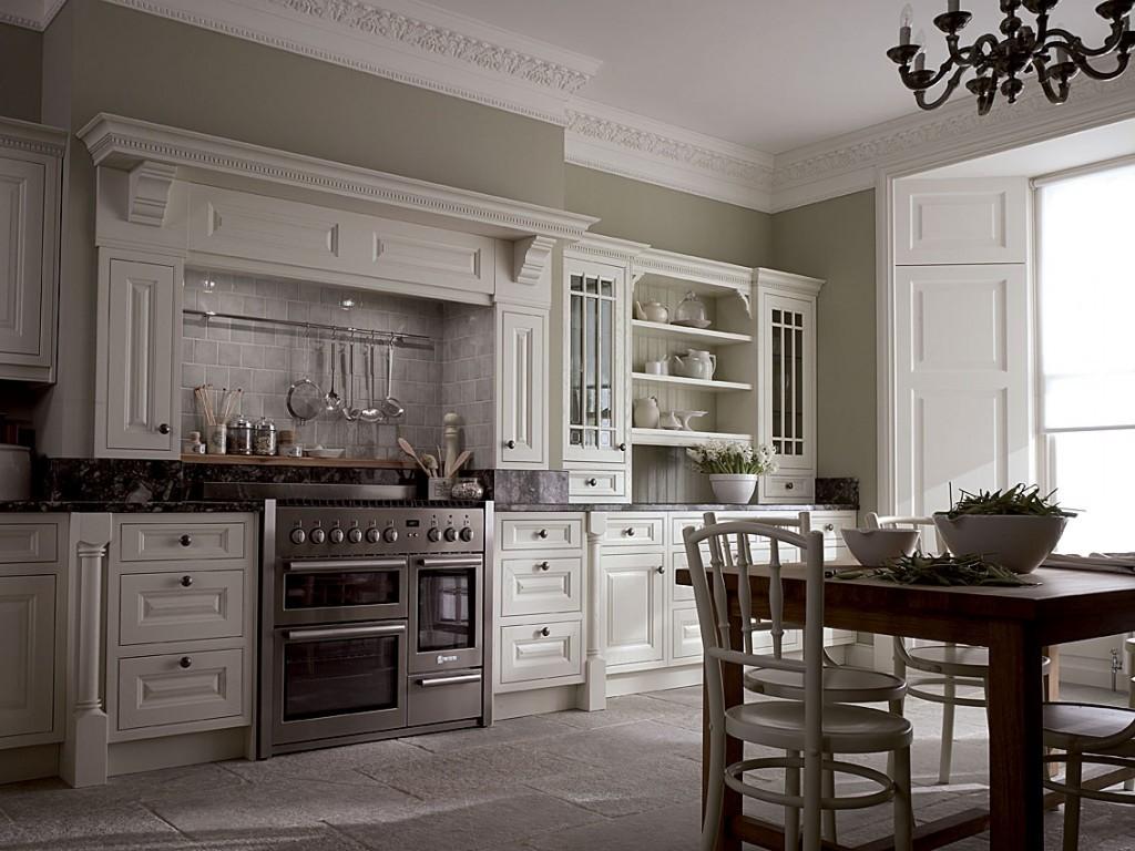 Кухня в классическом стиле дизайн