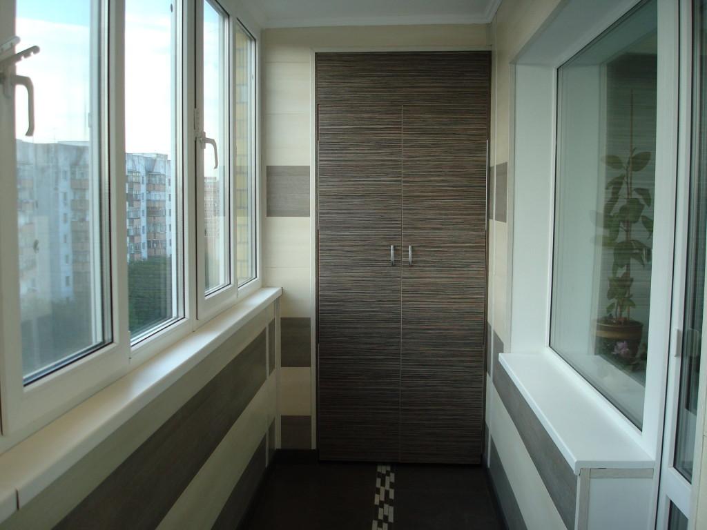 Отделка балконов и лоджий фото2