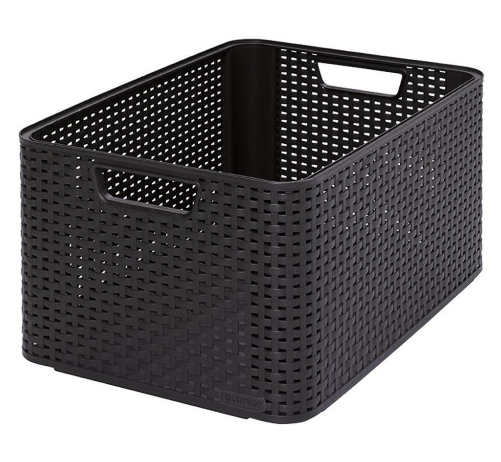 Пластиковая корзина для хранения вещей