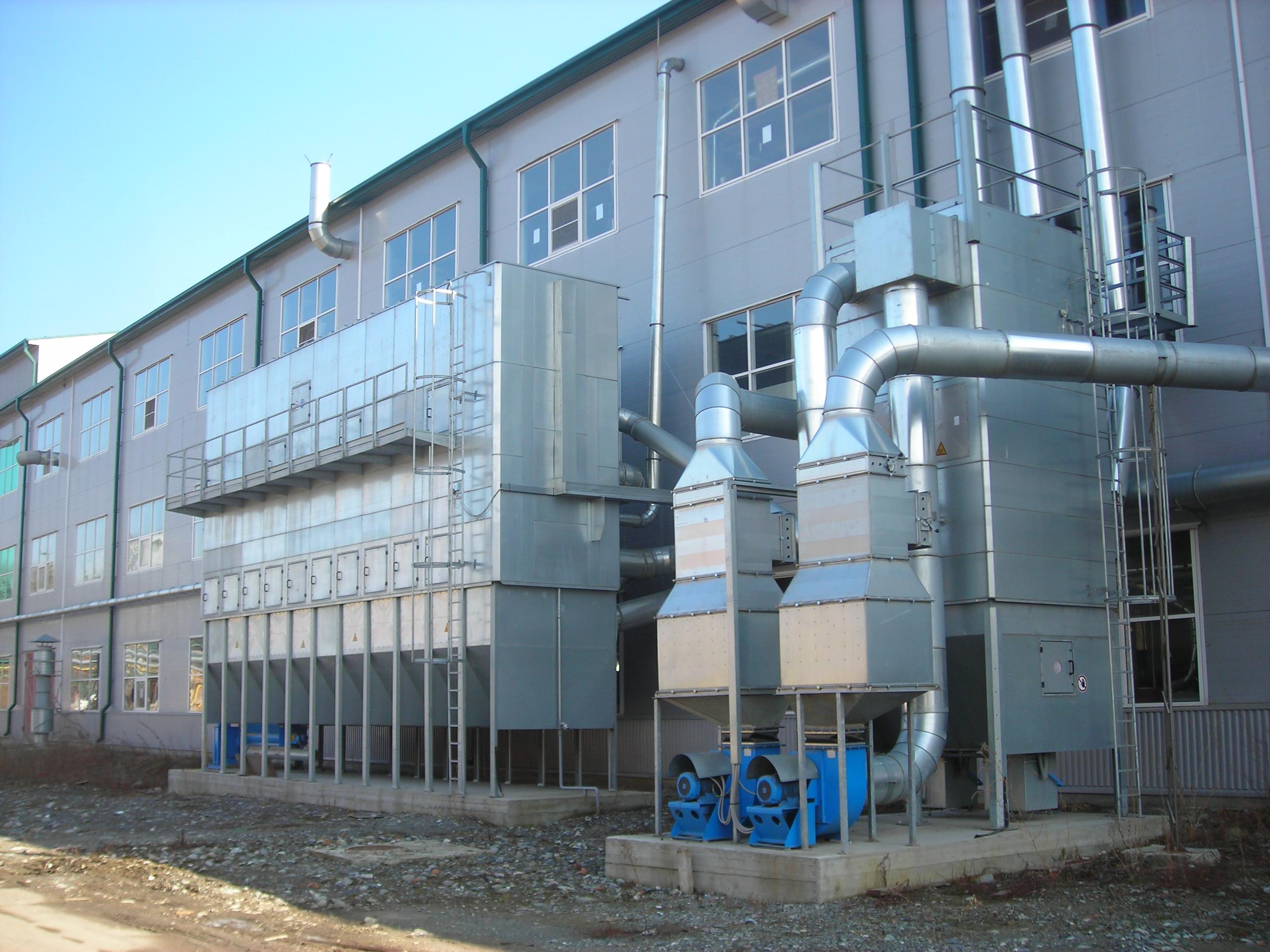 промышленная вентиляция фабрик