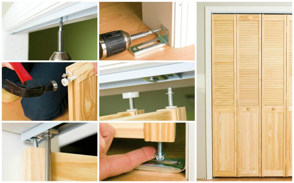 Инструкция по сборке дверей - гармошек