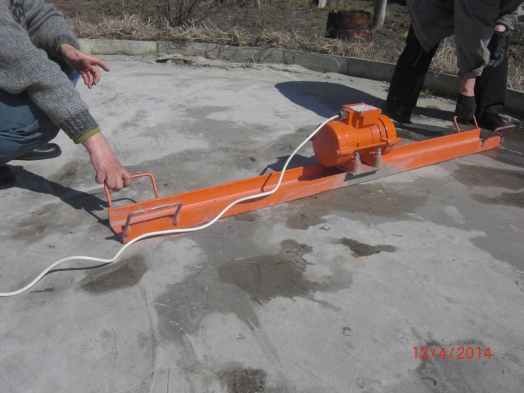 Глубинный вибратор для укладки бетона фото2