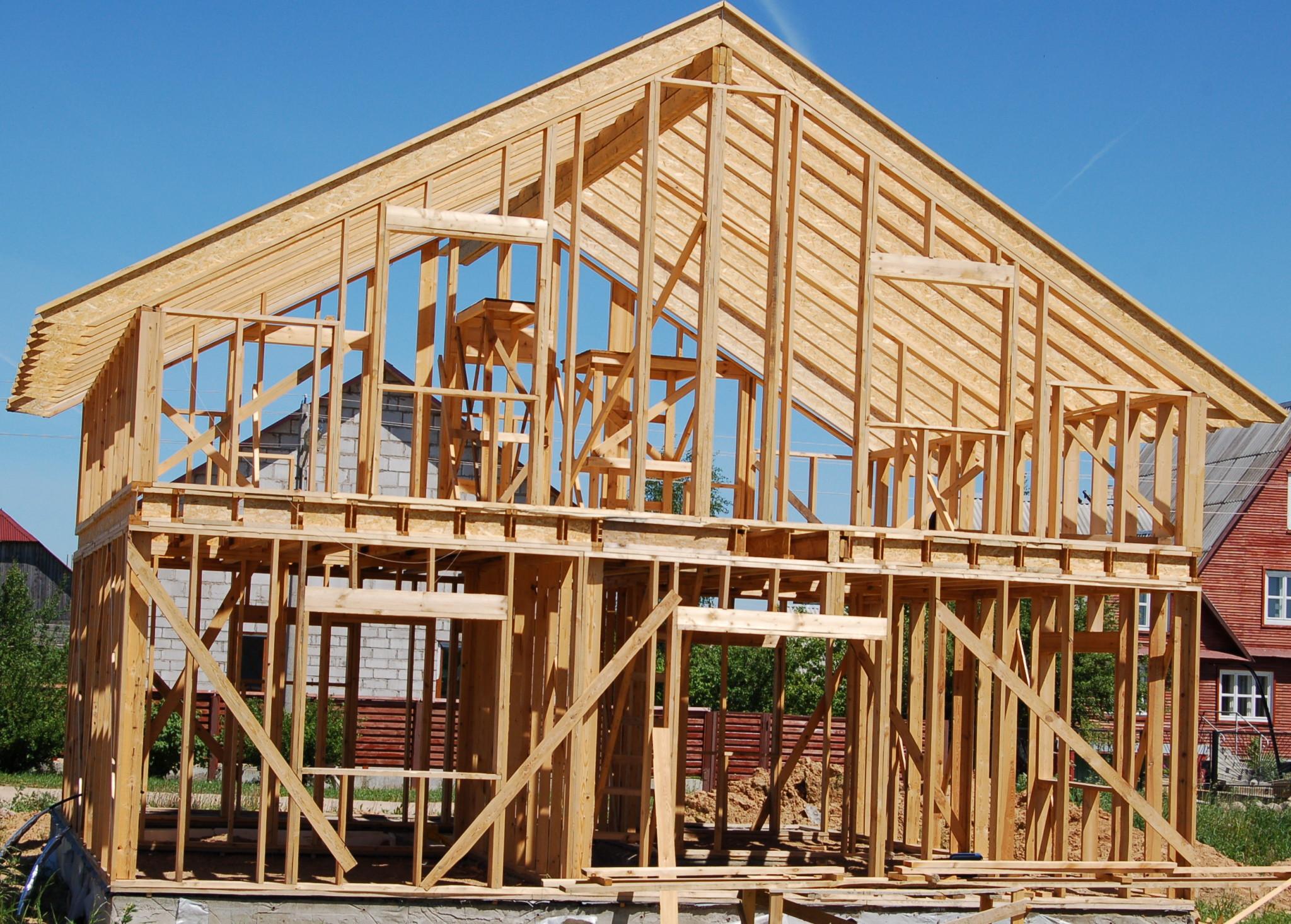 Строительство каркасных домов фото2
