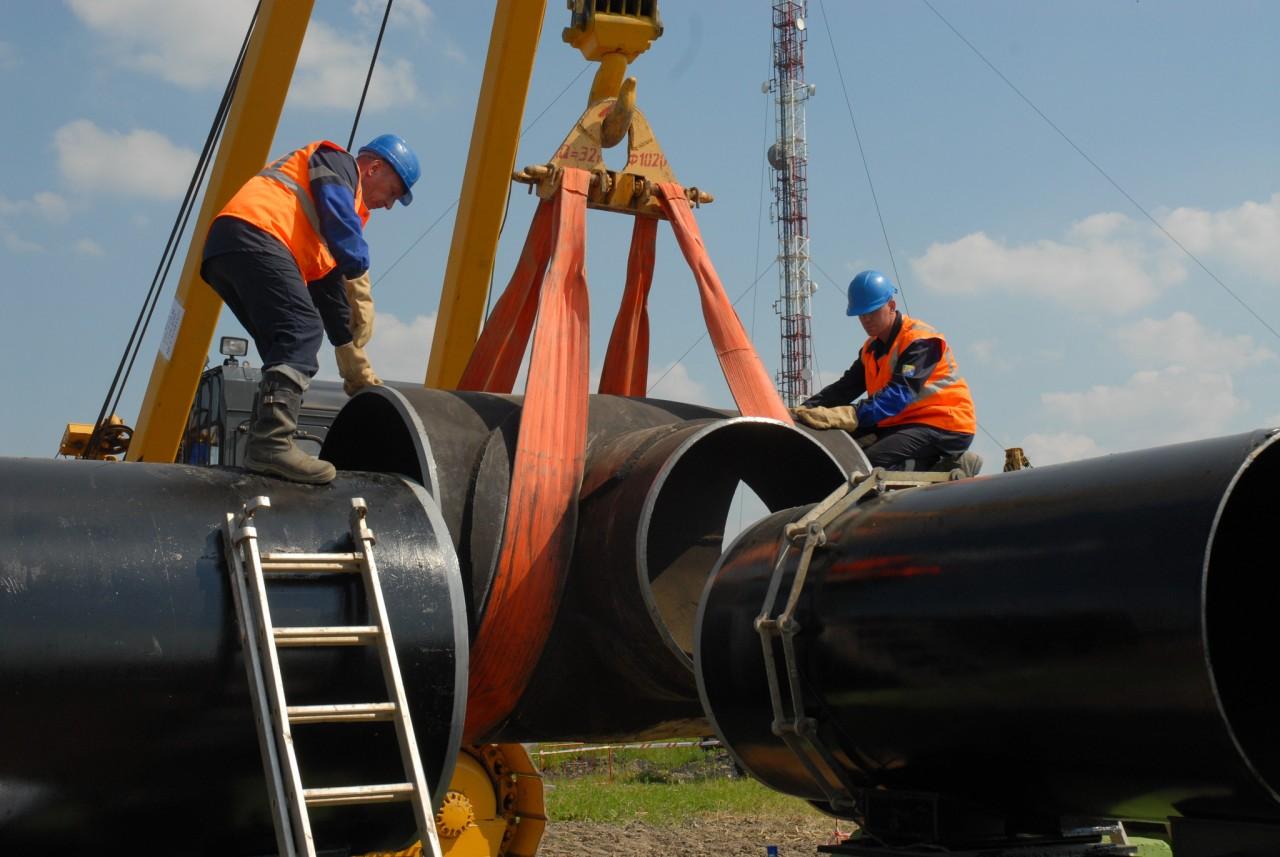Строительство газопровода фото2