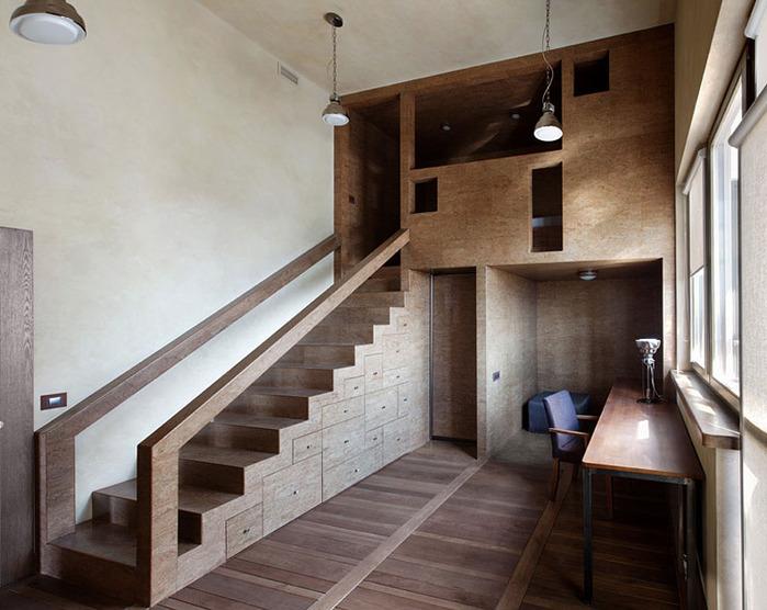 Антресольный этаж фото6