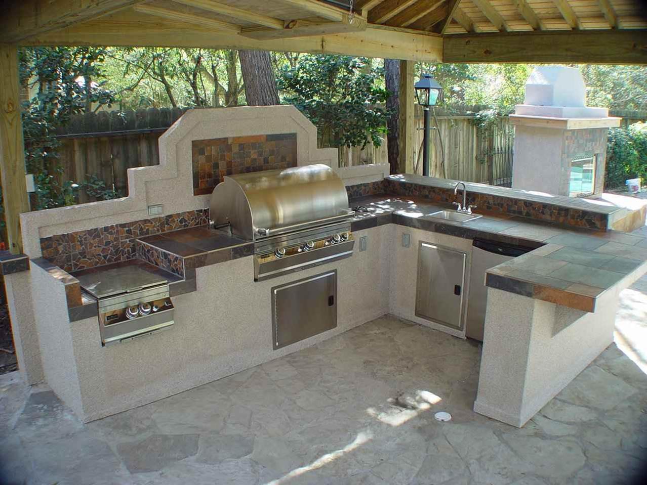 Летняя кухня на даче фото5
