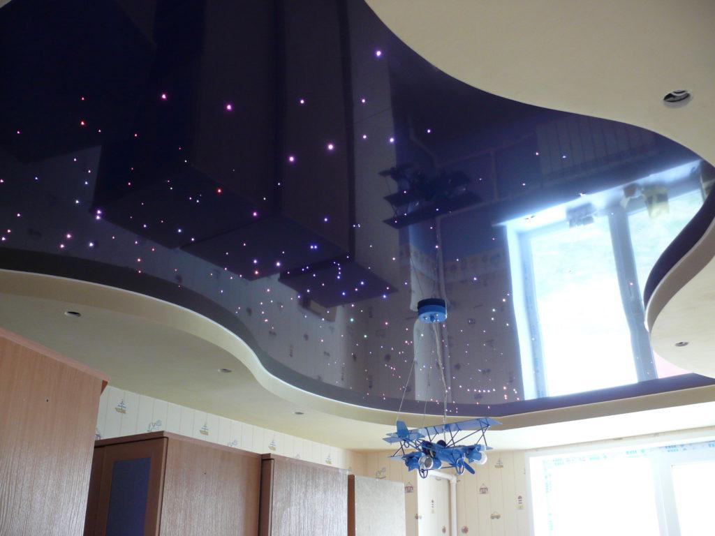 Натяжной потолок фото5