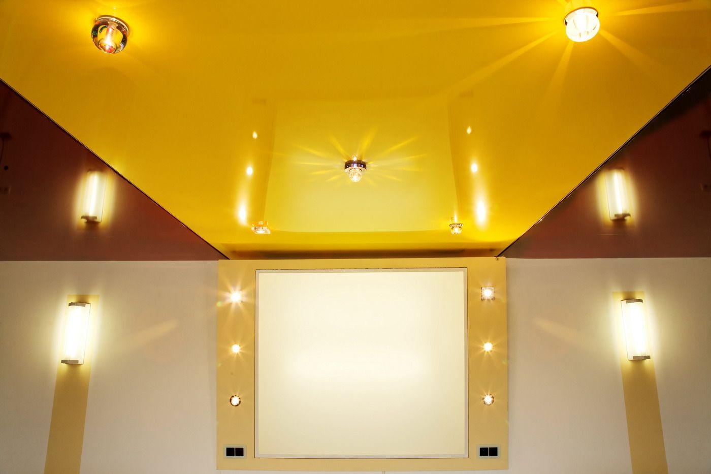 Натяжной потолок фото6