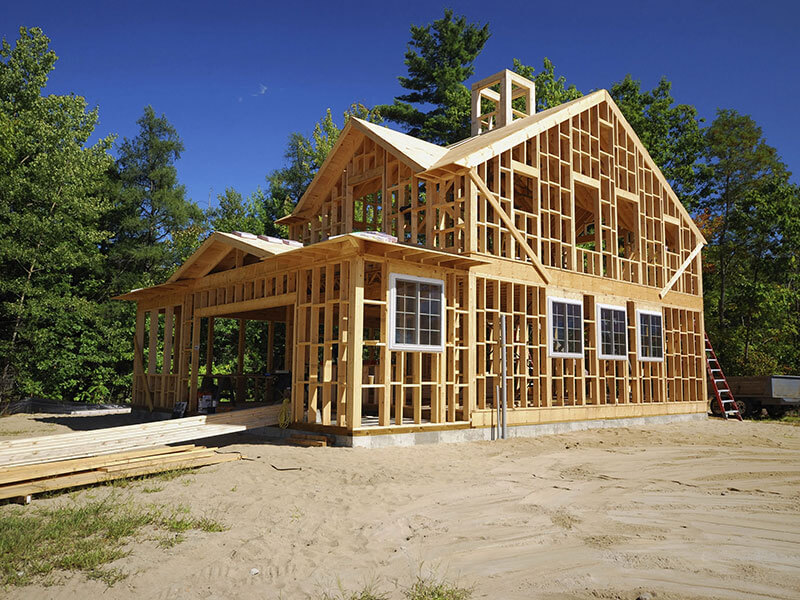 Основы строительства каркасных домов фото