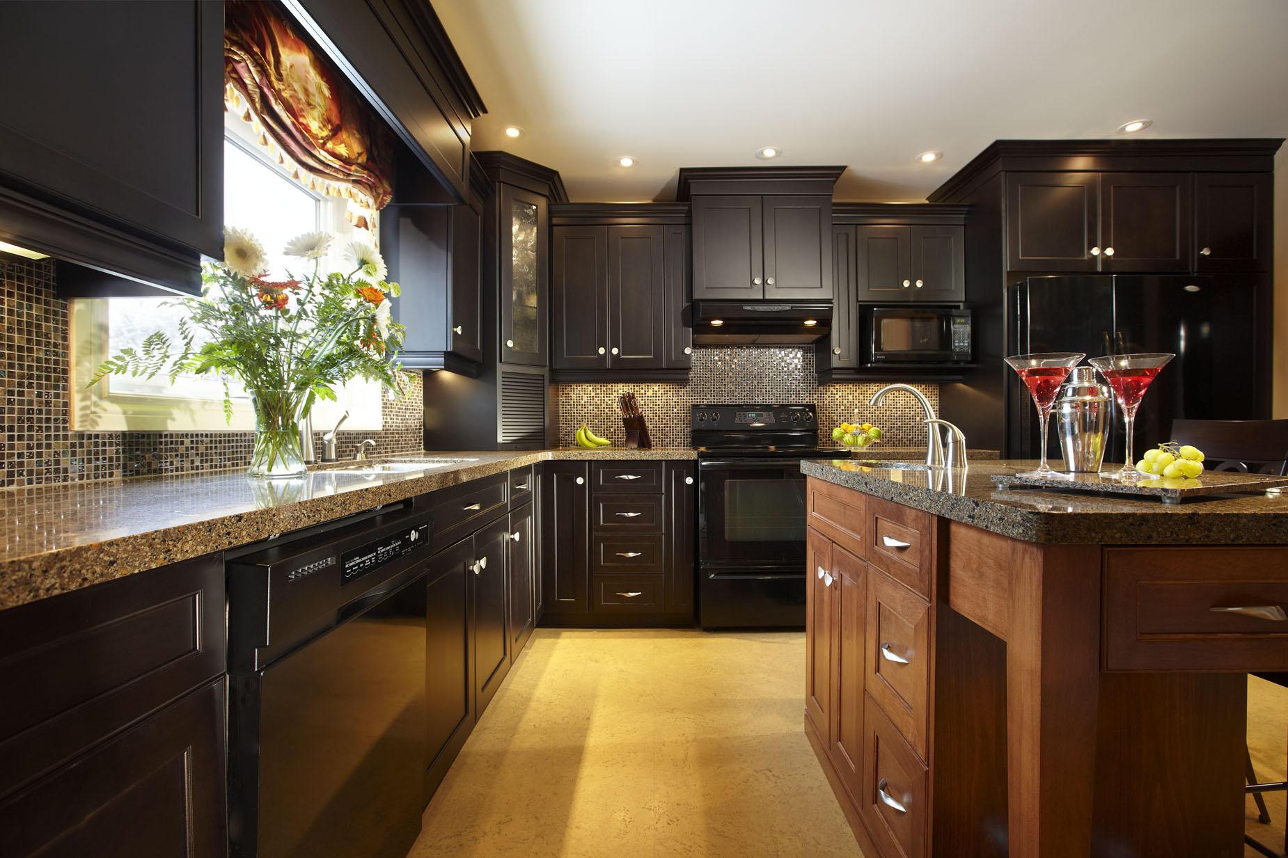 Идеальный кухонный гарнитур фото