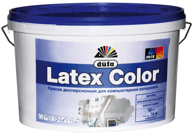 Латексная краска на водной основе фото2