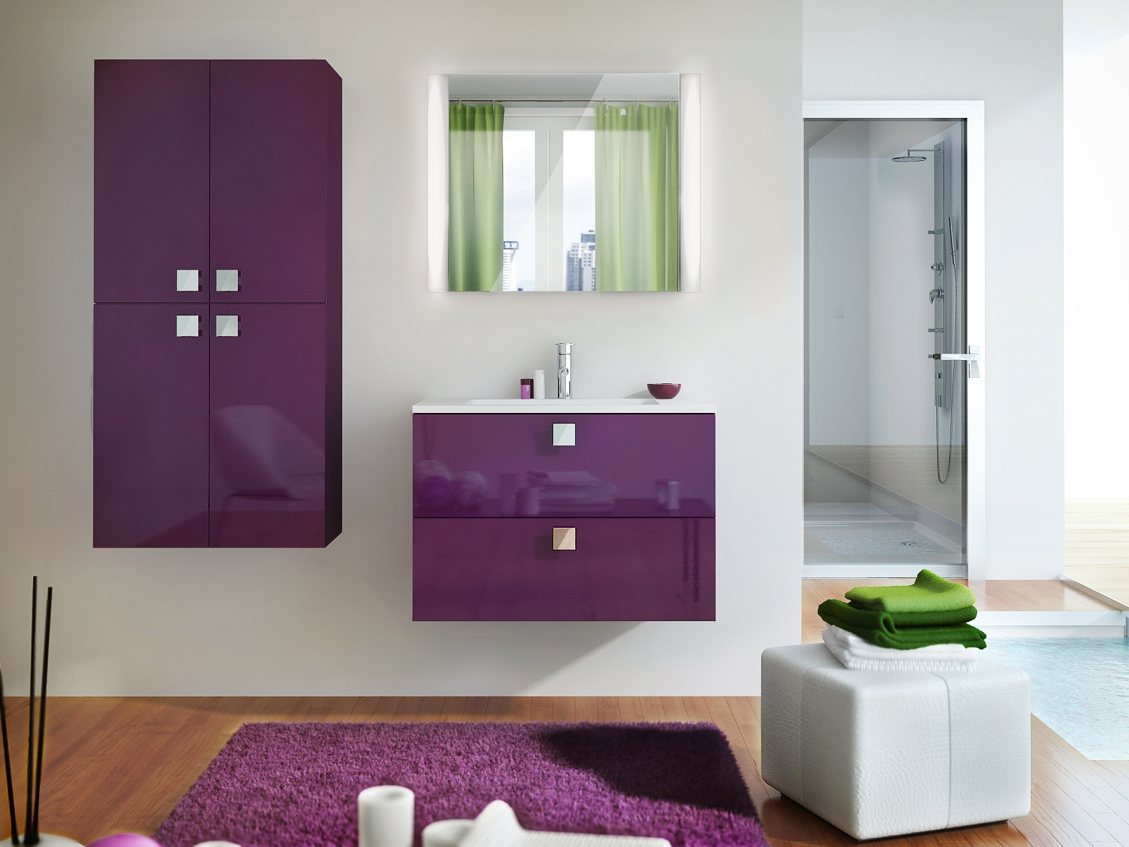 Мебель для ванной комнаты фото2