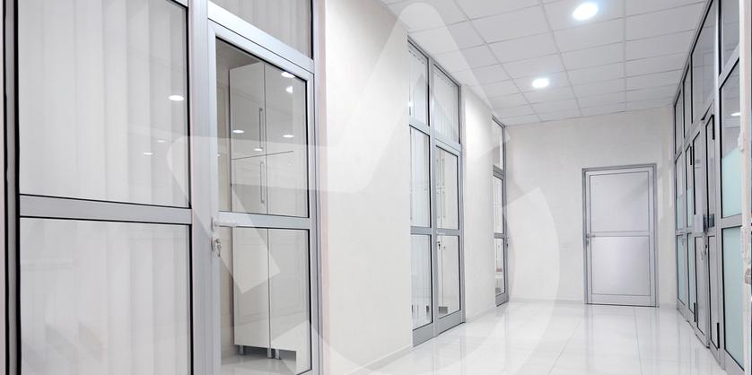 Двери из алюминиевого профиля фото2