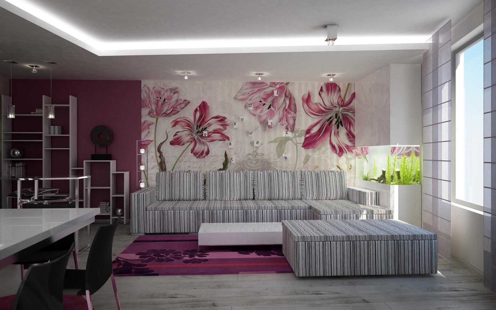 Модная отделка стен в квартире
