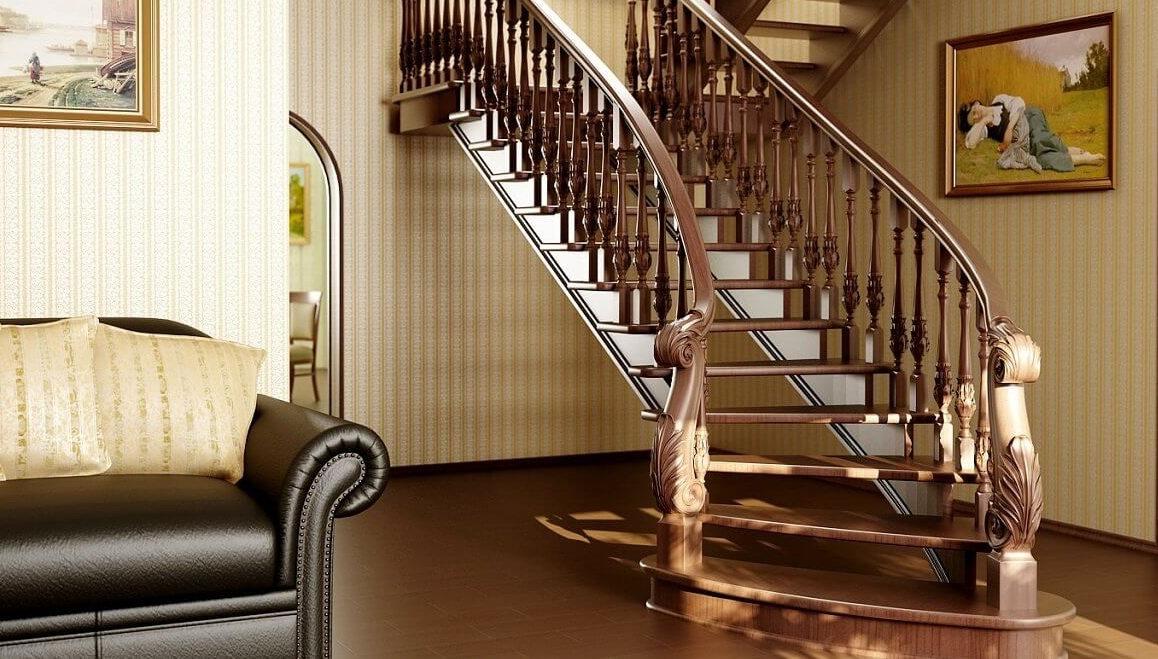 Виды и отличия лестниц фото2